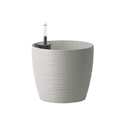 Emsa Blumenkübel Casa Cosy Aqua Comfort Ø 25 cm, H 22 cm Kunststoff, seidengrau (1 Stück)