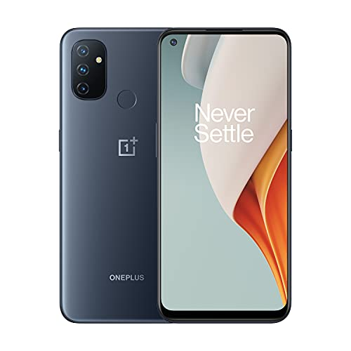 OnePlus Nord N100 Midnight Frost Unlocked Smartphone, 4GB+64GB, US Version, Model BE2011