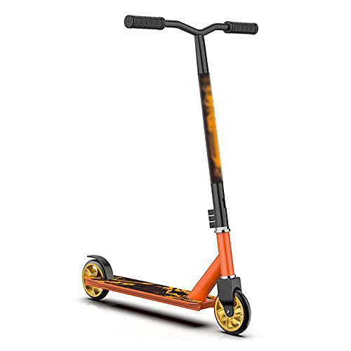 OFFA Freestyle Pro Scooter,scooters For Kids 8 Years And Up Teens Boys And Girls Beginners Beginner Level Stunt Scooter PU Wheels, Non-slip Rubber Handle, Sports & Outdoors Trick Scooter