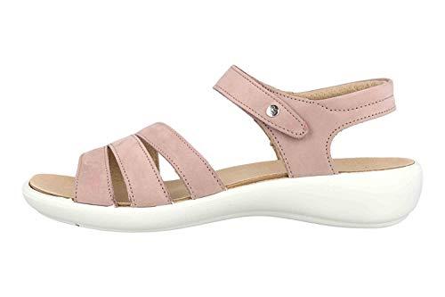 Romika Ibiza 111 Sandalen in Übergrößen Rose 16111 001 020 große Damenschuhe, Größe:44