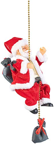 infactory hängender Weihnachtsmann: Kletternder Weihnachtsmann Santa Crawl (Weihnachtsmann der klettert)