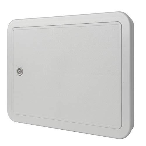 La ventilación si3020g-y Puerta de inspección de ABS, Gris