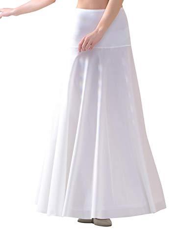 Lacey Bell Mujer Enaguas Larga con Cintura Elástica para Vestidos de Novia - Cancán Circunferencia 220cm - P11-220