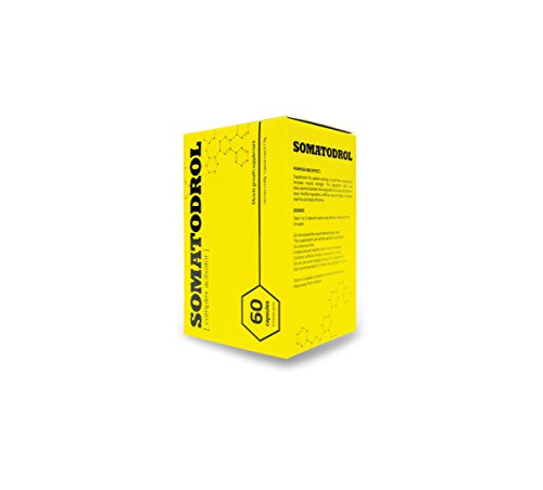 Iridium Labs Somatodrol Estimulador de testosterona Suplemento - 60 Cápsulas