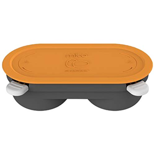 Morphy Richards 511649 Mico Eier-Pochierform für Mikrowellen, orange