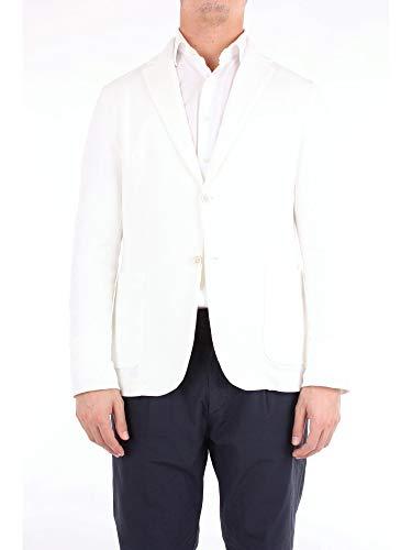 Circolo 1901 Luxury Fashion Mens CN2252WHITE White Blazer   Season Outlet