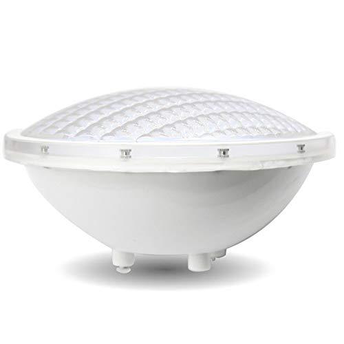 LED-Beleuchtung für Schwimmbadbeleuchtung, wasserdichtes Par68 / 12V-Spa-Licht IP68-Tauchlicht, mit farbigem Fernbedienungsscheinwerfer (12W warmweiß)