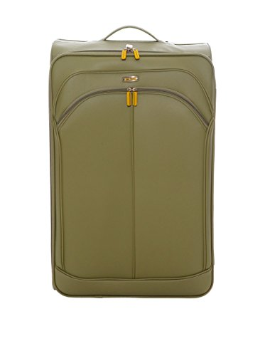 Maletas Queralt Maleta de Viaje 2 Ruedas, London de John Travel, 71 cm, 66 L, Verde