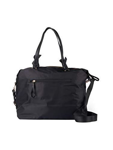 TOM TAILOR Damen Taschen & Geldbörsen Antonella Weekender Tasche schwarz/black,OneSize,C060,2999
