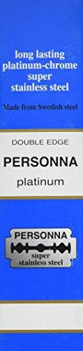 200 Israeli Personna Blue Razor Blades - Double Edge Blades - Personna Double Edge Razor Blades