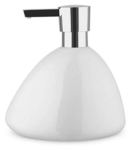 HLZY Dispensadores de jabón de encimera de baño, Dispensador de jabón Creativo Mano Desinfectante embotellado Brillante Cerámica Cerámica Manual CHAMPO Dispensador de jabón Ducha de baño (Color : C)