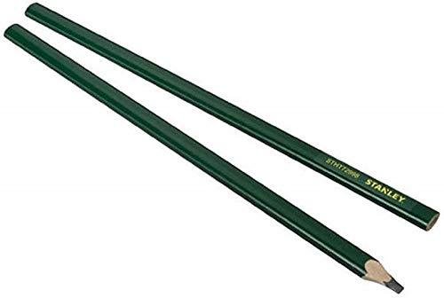 Stanley STHT1-72998 - Lápiz albañil 30cm Verde Cuerpo