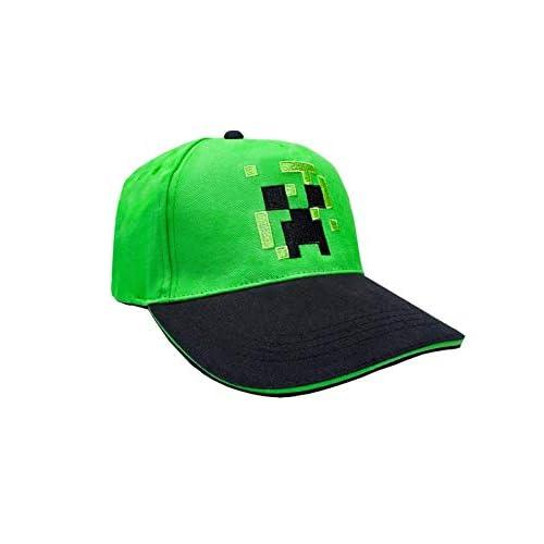 Minecraft Creeper Viso Ragazzi/Youth Snapback cap da Baseball