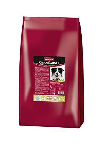 animonda GranCarno Hundefutter Adult, Trockenfutter für ausgewachsene Hunde, 12,5 kg