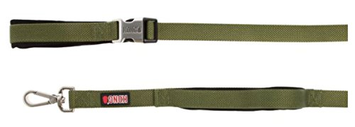 Barker Brands Inc. Kong Traffic Hundeleine, 183 cm, Grün