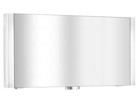Keuco Spiegelschrank Royal Metropol 14003, silber-eloxiert, 1300 x 610 x 155 mm, 14003171201