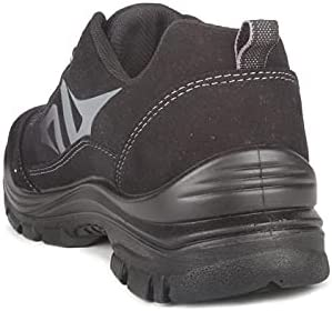 Acton, Profast (A9247-11)   Black Safety Work Shoes   Synthetic ultra suede   CSA Certified   Lightweight   WW Width   Metal Free