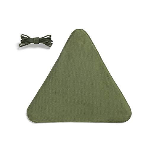 Shakala Paño de Taburete Triangular portátil Impermeable para Acampar al Aire Libre