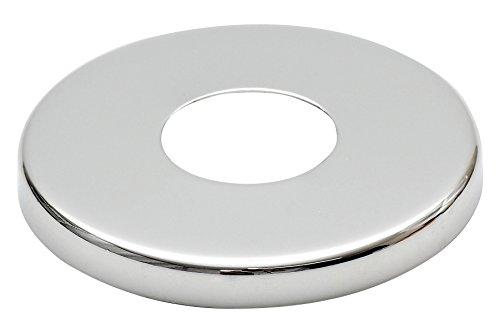 21mm (1/2') Collar Acero Cromado Válvula Alto Agujero Cubrir Grifo 8mm Altura