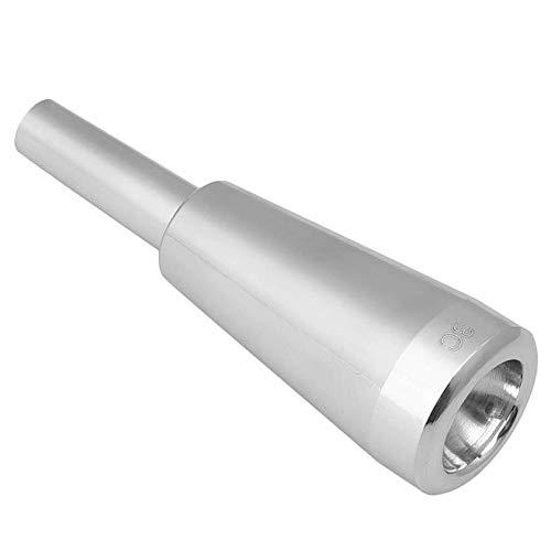 Yaootely 3C Trompeten MundstüCk Silber Meg Metall Trompete für oder Bach Conn und K?Nig Trompete C Trompete