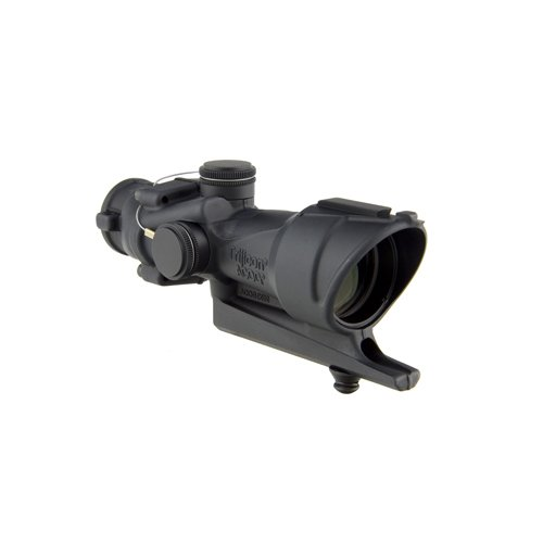 Trijicon ACOG 4 X 32 Scope Full Illuminated Crosshair .308 Ballistic Reticle, Red