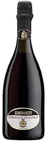 Giacobazzi Lambrusco Emilia Rosso - 6 Paquetes de 750 ml - Total: 4500 ml