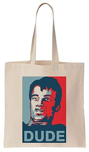 Finest Prints 10 Guy DUDE Poster Cotton Canvas Tote Bag
