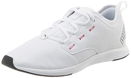 PUMA Damen Ella WNS Sneaker, Weiß White-Ignite Pink, 40 EU