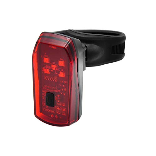 T24 LED Fahrrad Rücklicht, Bremslichtfunktion mit Sensor, StVZO