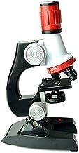 CNmuca Laboratório de kit de microscópio de biologia LED Casa Escola Ciência Brinquedo educacional Presente Microscópio bi...