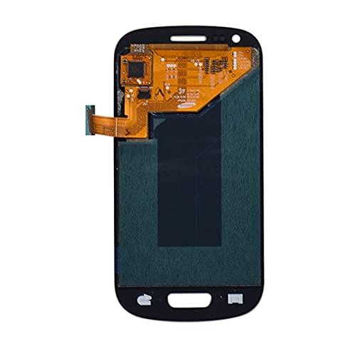 Schermi LCD per telefoni cellulari Display LCD I9300 Touch Screen Digitizer Sostituzione/Fit per Samsung Galaxy S3 Mini I8190 LCD Schermo LCD (Color : White (S3 Mini))