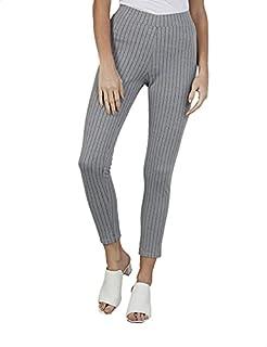 Splash Striped Slim-Fit Leggings for Women -, 12