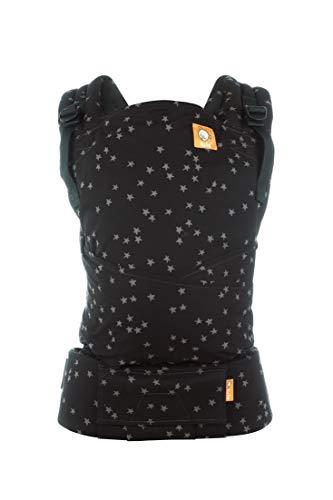 Tula Half Buckle TBCA5G59 Discover - Portabebés Híbrido de Inspiración Asiática con correas para los hombros acolchadas con opción cruzada para bebés de 3, 2 a 20, 4 kg