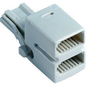 BT bus 2-weg adapter/verdeler - telefoon/fax/modem