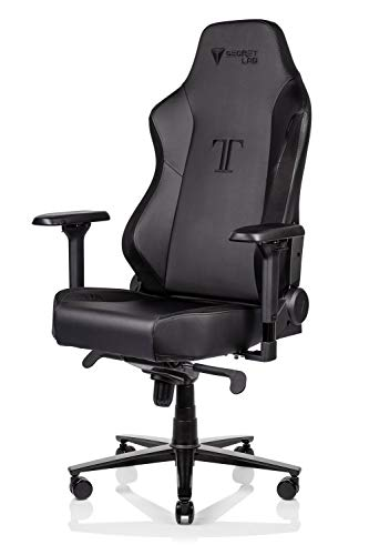 Secretlab Titan 2020 Prime 2.0 PU Leather Gaming Chair - Black (with Suede) black chair gaming