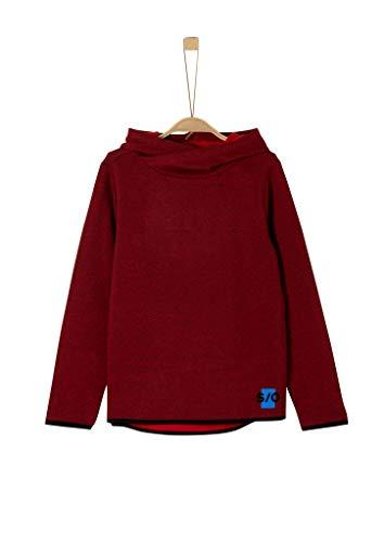 s.Oliver Jungen 62.911.41.2715 Sweatshirt, Rot (Red Melange 31s6), 152 (Herstellergröße: M/REG)