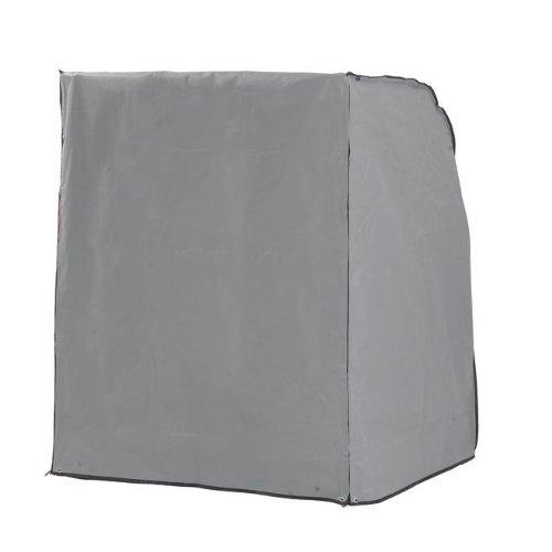 Sonnenpartner Strandkorb Sonnenpartner Schutzhülle grau für XL-SitzerSonnenpartner Strandkorb schwere Ausführung