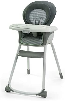 Graco Made2Grow 6 in 1 High Chair Converts to Dining Booster Seat Youth Stool and More Monty product image