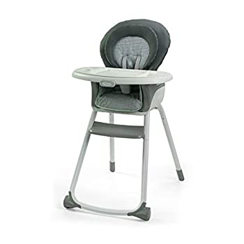 Graco Made2Grow 6 in 1 High Chair | Converts to Dining Booster Seat Youth Stool and More Monty