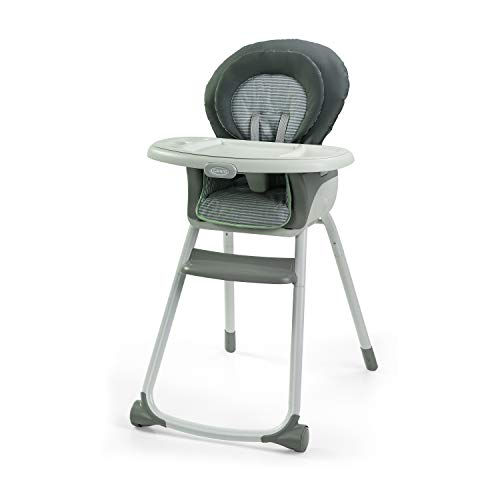 Graco Made2Grow 6 in 1 High Chair | Converts to Dining Booster Seat, Youth Stool, and More, Monty