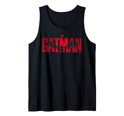DC Fandome The Batman Red Logo Tank Top
