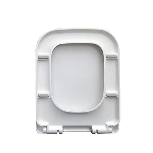 ZYHJAMA Tapa del Inodoro Cuadrada del Asiento del Inodoro Universal Tapa del Inodoro del Asiento del Inodoro Engrosada Universal