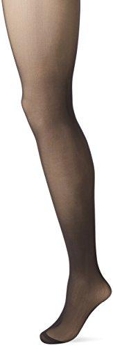 Dim Body Touch Panty Nude Sensation sin costuras Medias, 30 DEN, Negro (Negro 127), Medium (Tamaño del fabricante:3) para Mujer