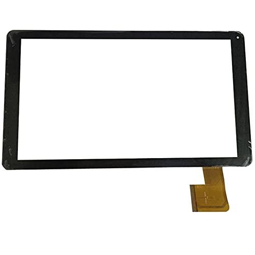 10.1 Pulgadas Ajuste para SPC Glee 10.1 Tableta cuádruple Tableta Pantalla táctil Panel táctil digitalizador de reemplazo de Sensor de Vidrio (Solo Pantalla táctil) (Color : White)