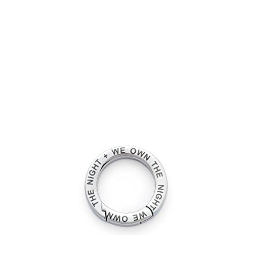 Leonardo Jewels Unisex-Schlüsselring Edelstahl klein P1 15037