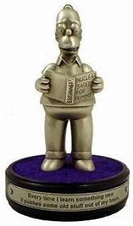 Homer Simpson Pewter Homerisms Statue