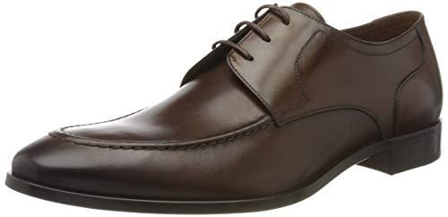 Lottusse L7216, Zapatos de Cordones Derby Hombre, Marrón (Jocker Old Teak Jocker...