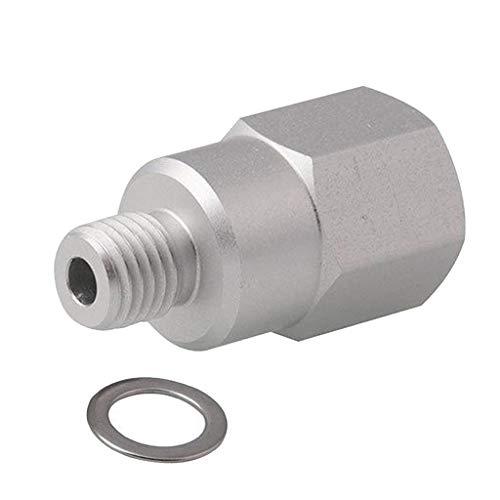 MERIGLARE Sensor de Temperatura Del Refrigerante Adaptador M12x1.5 a Agua Roscada NPT de 1/2 ''