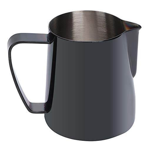Taza para espumar, 350 ml de acero inoxidable Titanize Leche