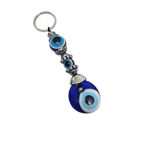 Porte-clés Nazar Boncuk Anahtarlìk avec perles de verre fait